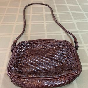 Talbots Brown Leather Handbag